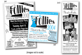 The Follies 2004 Promo Pieces
