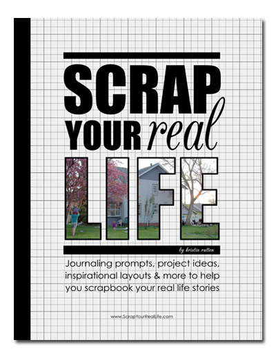 Scrap Your Real Life Book