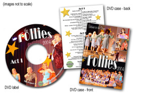 The Follies 2004 DVD Packaging